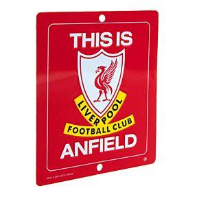 Liverpool Square Window Metal Sign (14cm x 12cm)