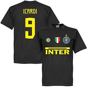 Inter Icardi 9 Team Tee - Black