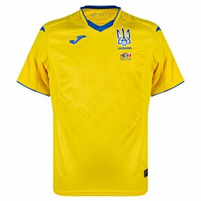 20-21 Ukraine Home Shirt + 2020 Transfer