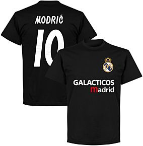 Galácticos Madrid Modric 10 Team T-shirt - Black