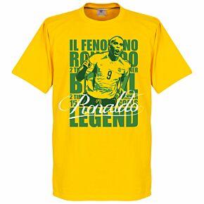 Ronaldo Luis Nazario de Lima Legend Tee