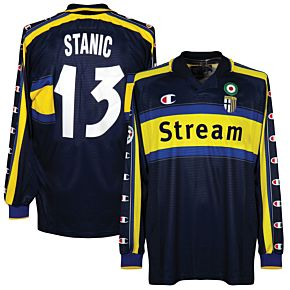 Champion Parma 1999-2000 Away Jersey - L/S NEW Condition Player Issue - STANIC 13 - Size XL