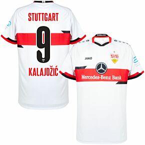 21-22 VfB Stuttgart Home Shirt + Kalajdzic 9 (Official Printing)