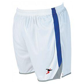 Precision Training Roma Shorts - White/Royal/Silver