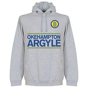 Okehampton Argyle Team Assist Hoodie - Grey