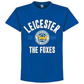 Leicester Established Tee - Royal
