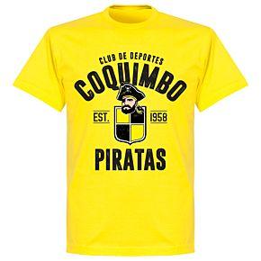 Coquimbo Established T-Shirt - Lemon Yellow