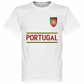 Portugal Team Tee - White