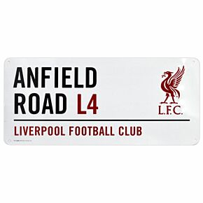 Liverpool Street Sign