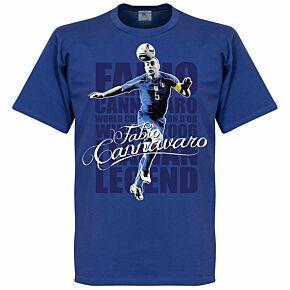 Cannavaro Legend Tee - Blue