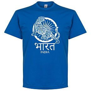 India Crest Tee - Royal