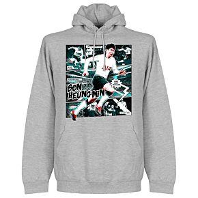 Son Comic Hoodie - Grey