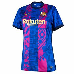 21-22 Barcelona 3rd Womens Shirt