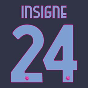 Insigne 24 (Official Printing) 20-21 Napoli 3rd