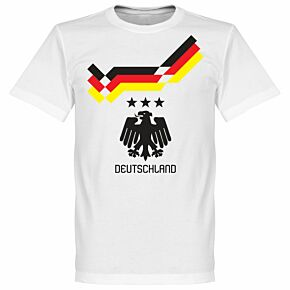 1990 Germany Retro KIDS Tee - White