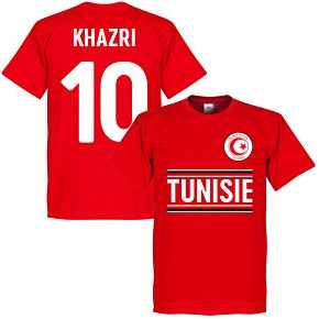 Tunisia Khazri 10 Team Tee - Red