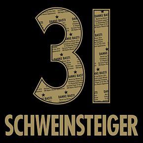 Schweinsteiger 31 (Danke Basti Printing) 21-22 Bayern Munich Away
