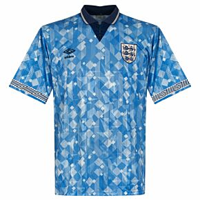 Umbro England 1990-1992 Third (World In Motion) Shirt - USED Condition (Great) - Very Rare - Size XL