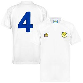 1974 Leeds United Retro Home Shirt + No 4
