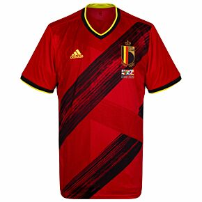 20-21 Belgium Home Shirt + 2020 Transfer