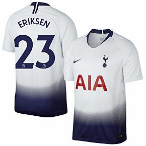 Tottenham Home Eriksen 23 Jersey 2018 / 2019 (Authentic EPL Printing)