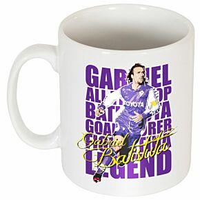 Gabriel Batistuta Legend Mug