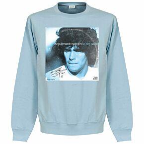 Pennarello LPFC Maradona Sweatshirt - Sky