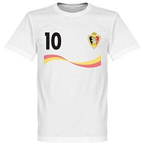 Belgium Hazard Tee - White