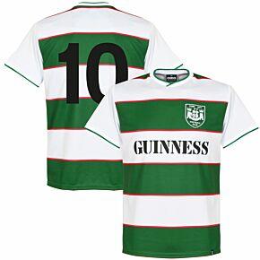1984 Cork City FC Retro Shirt + No.10 (Brooking)