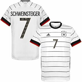 adidas Germany Home Shirt 2020-2021 + Schweinsteiger 7 (Danke Basti Printing)