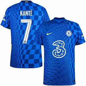 21-22 Chelsea Dri-Fit ADV Match Home Shirt + Kanté 7 (Official Cup Printing)