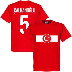 Turkey Banner Calhanoglu 5 Tee - Red