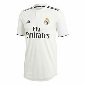 Real Madrid Home Authentic Jersey 2018 / 2019