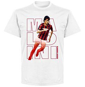 Maldini Short Shorts T-shirt - White