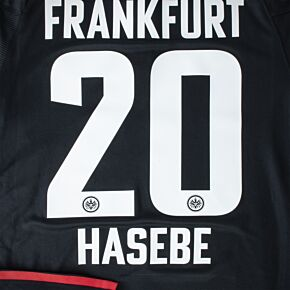 Hasebe 20 (Official Printing) - 21-22 Eintracht Frankfurt Home