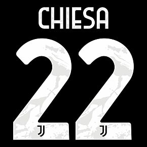 Chiesa 22 (Official Printing) - 21-22 Juventus Away