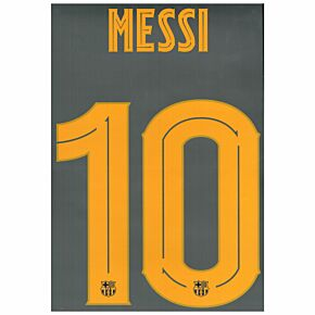 Messi 10 (Solid Cup Style) - 20-21 Barcelona Home