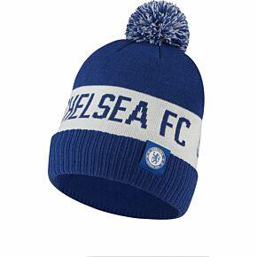 20-21 Chelsea Pom Beanie - Blue