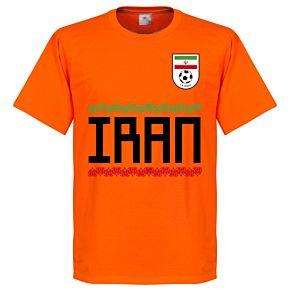 Iran Team Tee - Orange