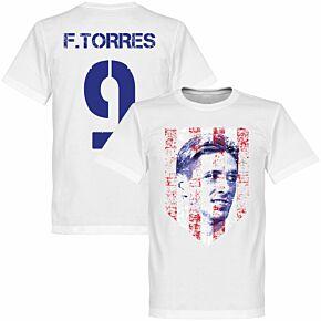 Fernando Torres Atletico Tee - White