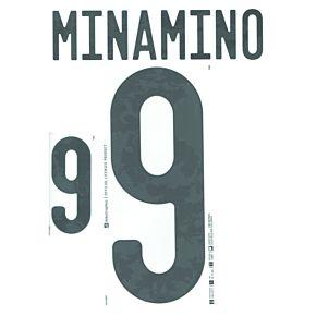 Minamino 9 (Official Printing) - 20-21 Japan Away