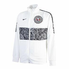 2021 Club America I96 Anthem Jacket - White