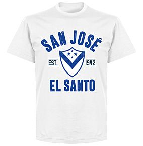 Club San Jose Established T-Shirt - White