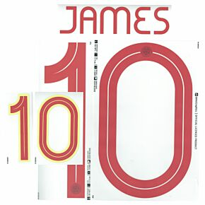 James 10 (Official Printing) - 21-22 Colombia Home