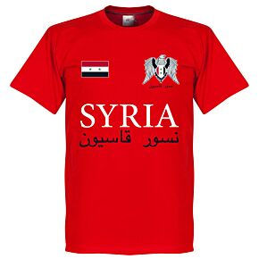 Syria National Tee - Red