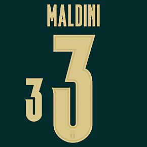Maldini 3 (Official Printing) - 19-20 Italy 3rd Renaissance