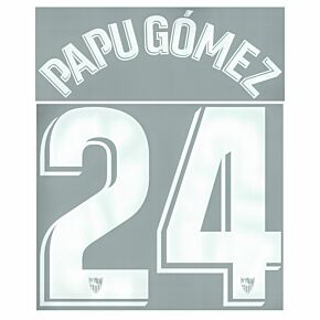 Papu Gómez 24 (Official Printing) - 21-22 Sevilla Away