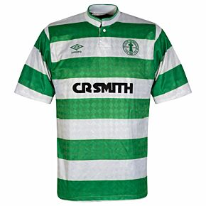 Umbro Celtic Centenary1987-1989 Home Shirt -USED Condition (Good) - Size M