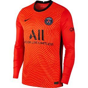 20-21 PSG L/S GK Shirt