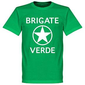 Brigate Verde T-Shirt - Green